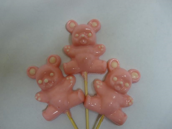Pink Chocolate Bears