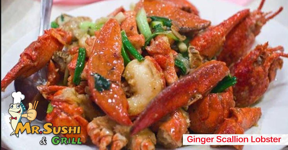 Ginger Scallion Lobster