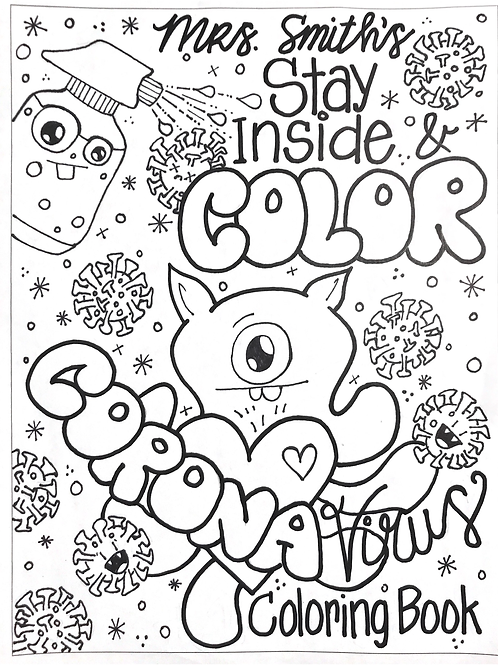 'Rona Coloring Pages - Digital Download