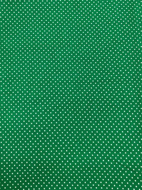 Polka Dots on Emerald