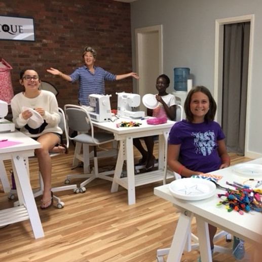 Summer Sewing Camp