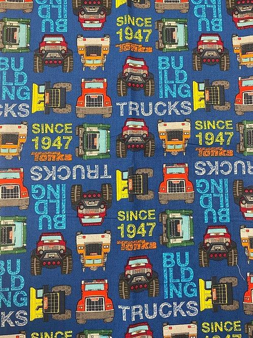 Truckin in Blue