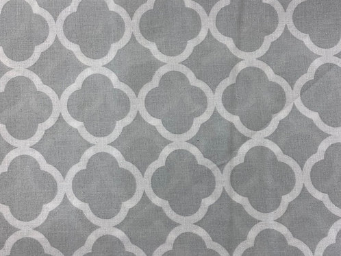Lattice Frieze Grey