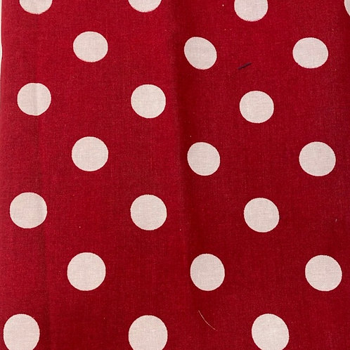 Big Red in Polka Dots
