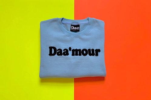 Daa'mour Crewneck - Baby Blue