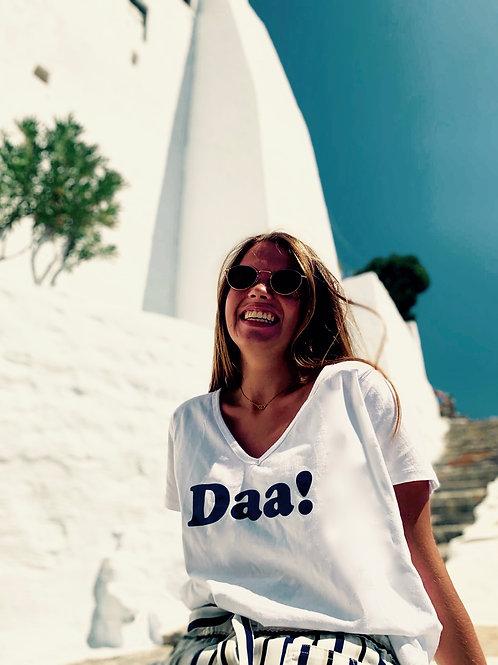 Daa! Tee-shirt blanc