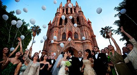 Boda en San Miguel de Allende