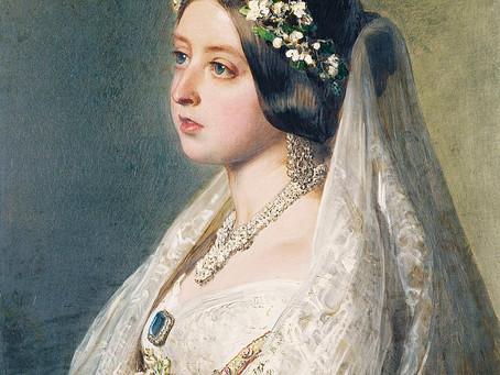 La historia detrás del vestido de novia.