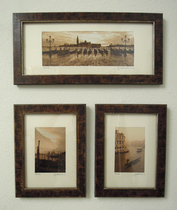 sepia photographs of venice