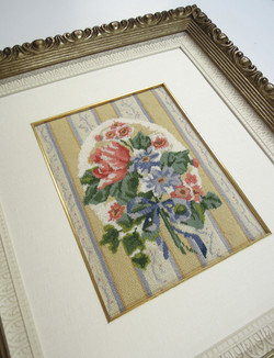needlepoint, stack frame