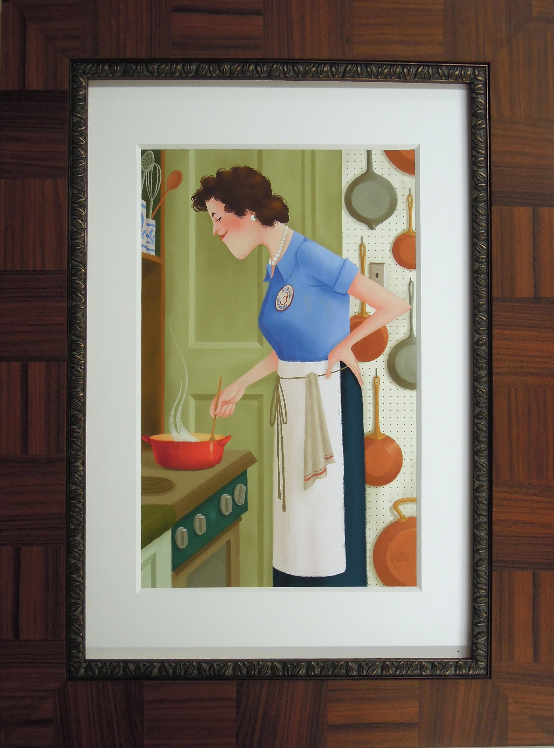 limited edition julia child print
