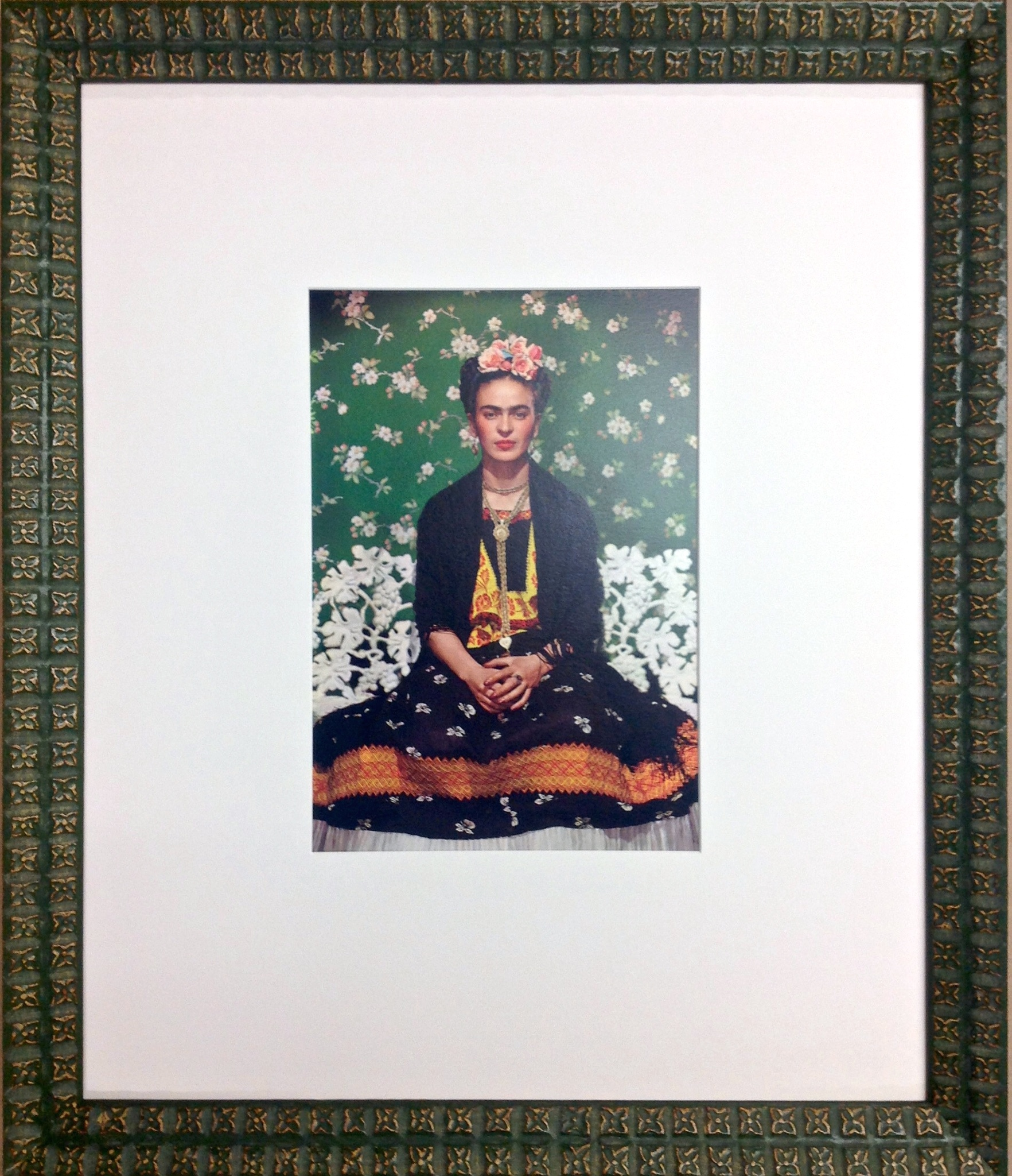 collectible frida photograph
