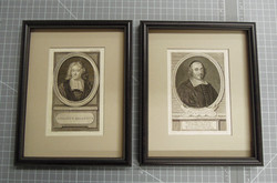 etchings, archival museum materials