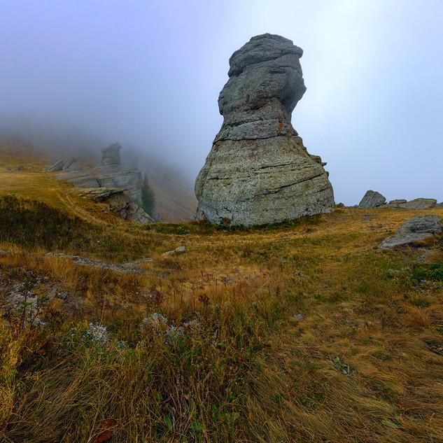 Туман на Демерджи