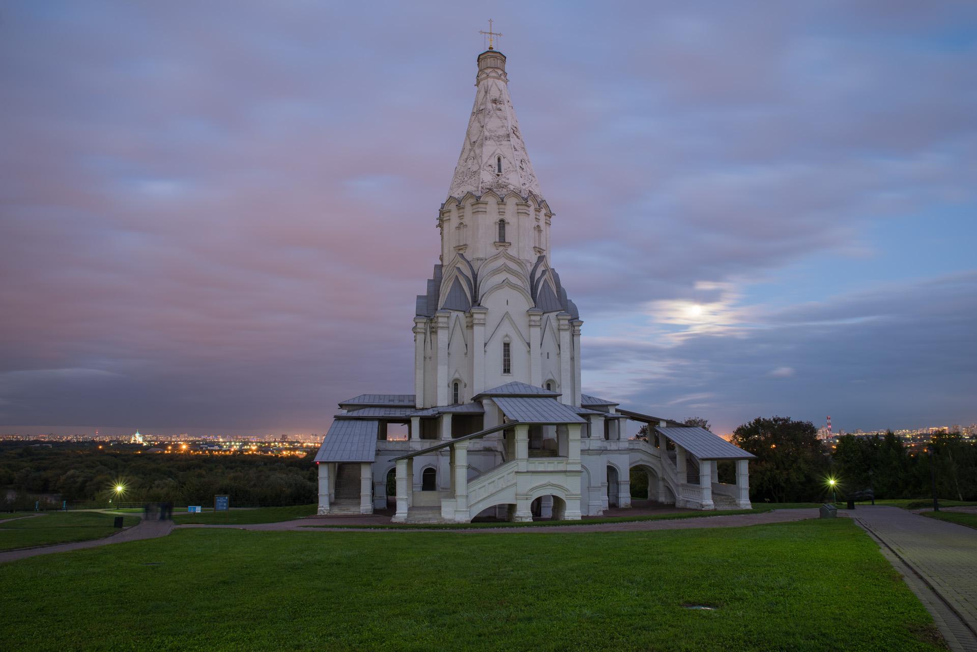 Церковь в Коломенском