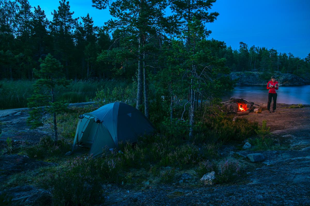Evening in Karelia