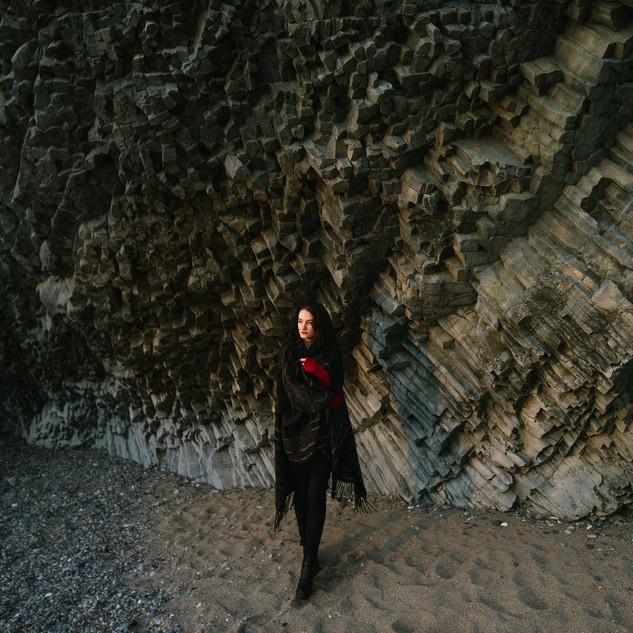На Яшмовом пляже. Январь 2018
