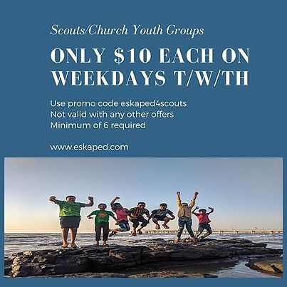 scout youth group promo