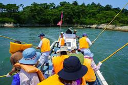 利府の海で伝統漁法体験!