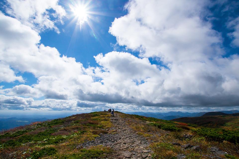 東栗駒コースを歩く