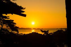 瑞鳳ヶ丘からの朝日