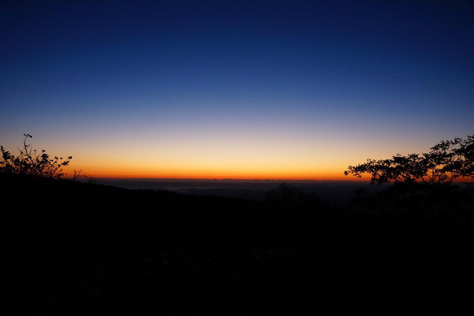 那須岳からの朝焼け