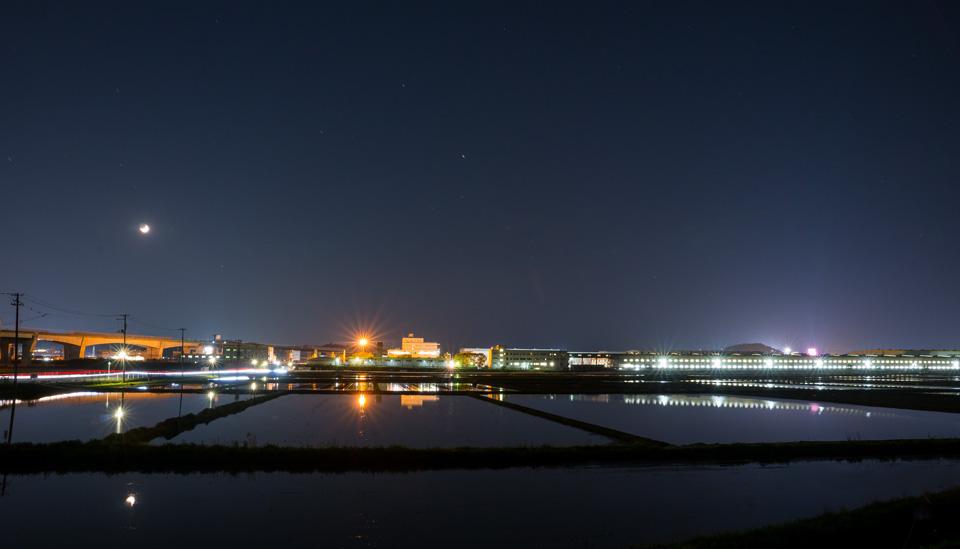 利府夜景 新幹線総合車両センター