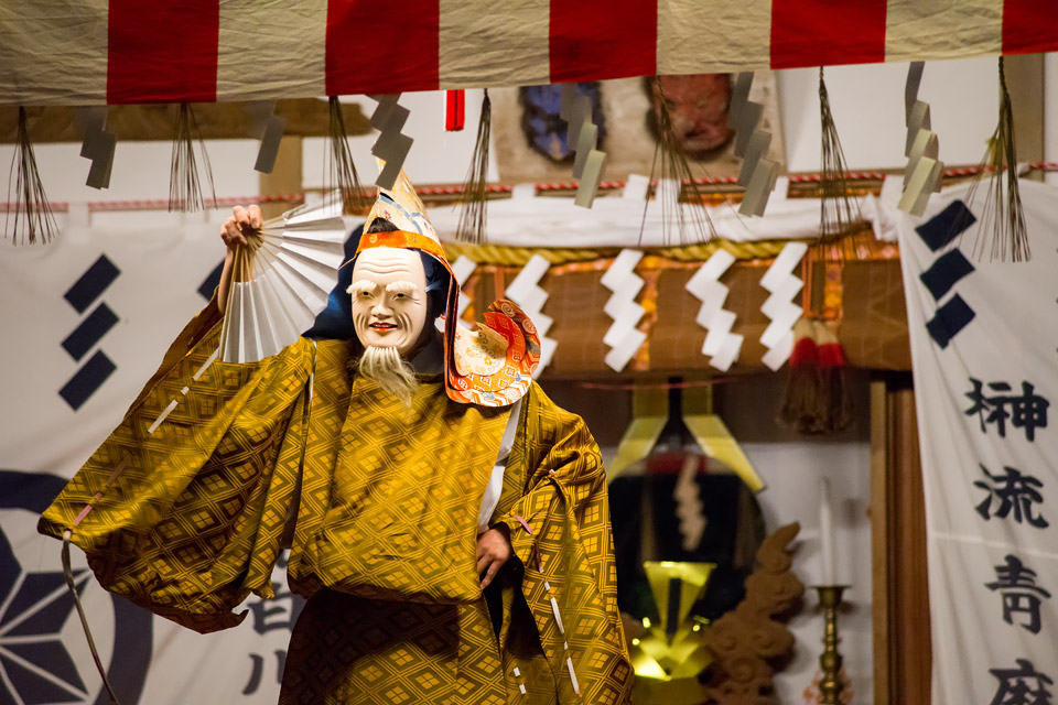 青麻神社 夜神楽
