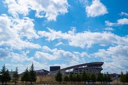 東京オリンピックを待つ宮城スタジアム
