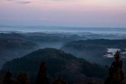 番ヶ森から見た栗駒山