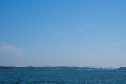 海とハート