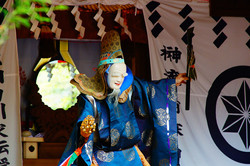 神楽舞 青麻神社
