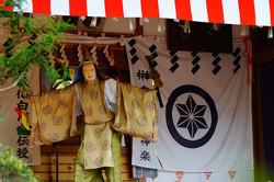 青麻神社の伝統神楽