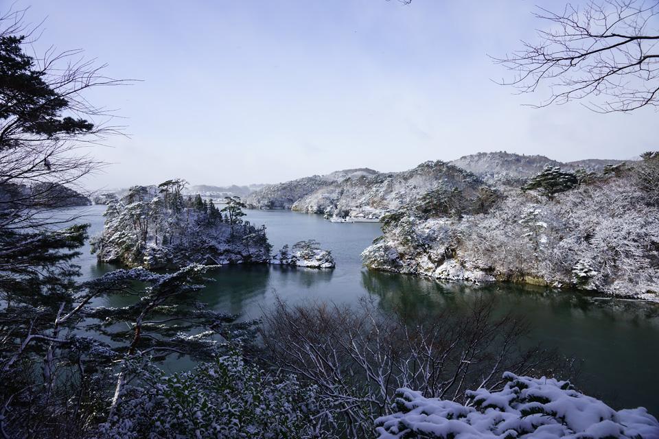 浜田雪景色
