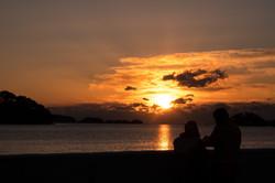 2019 初日の出  浜田漁港にて