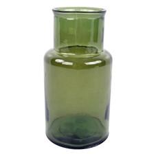 2x Vase groß, grün
