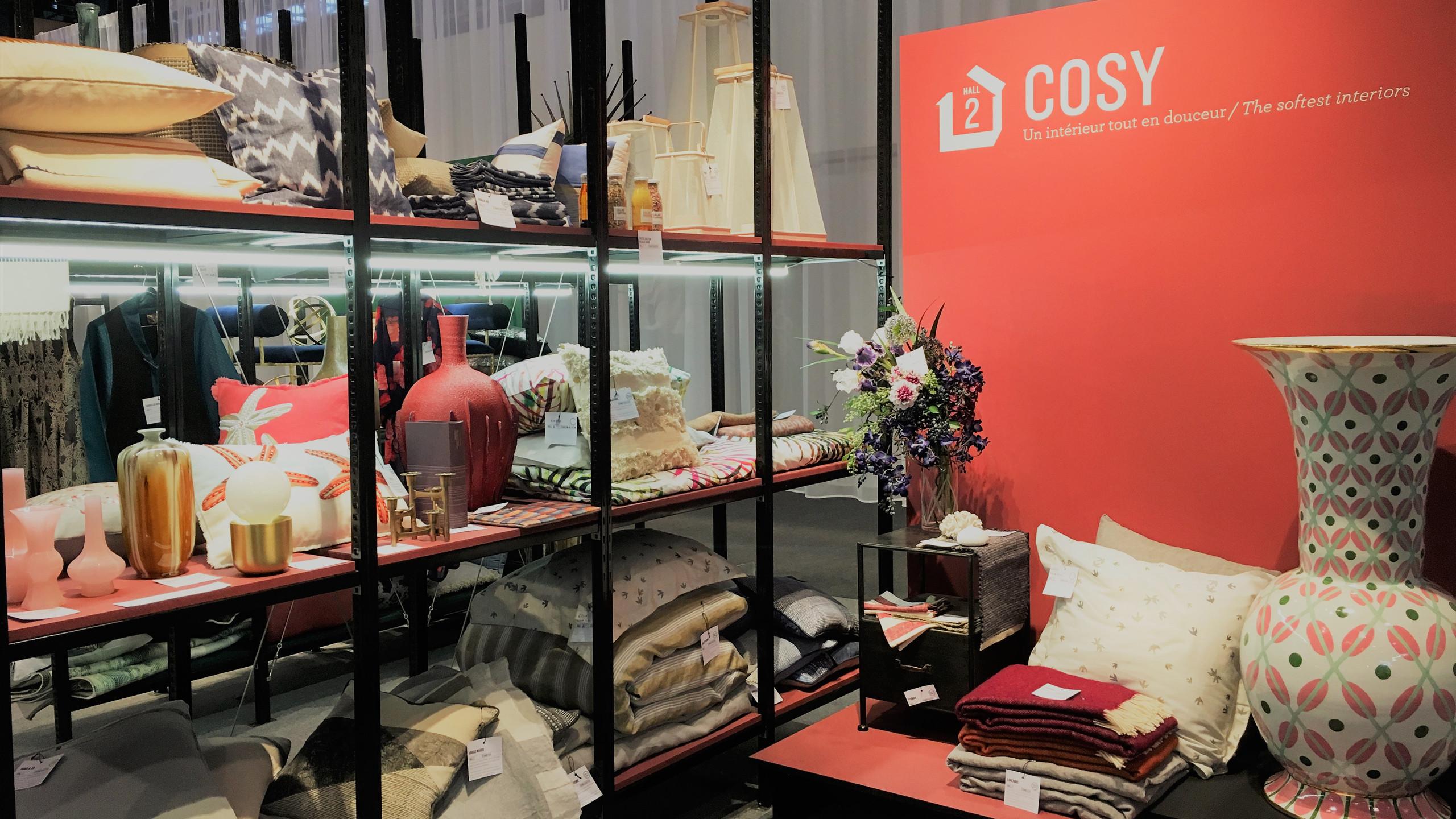 Maison & Objet Paris  Warme Farben und kuschelige Materialien bringen Wärme und Behaglichkeit ins Zuhause.