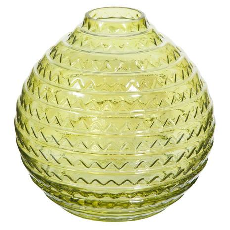 Vase, Glas, grün