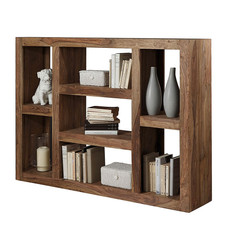 Regal/Sideboard, Massivholz, 135x100x30 cm