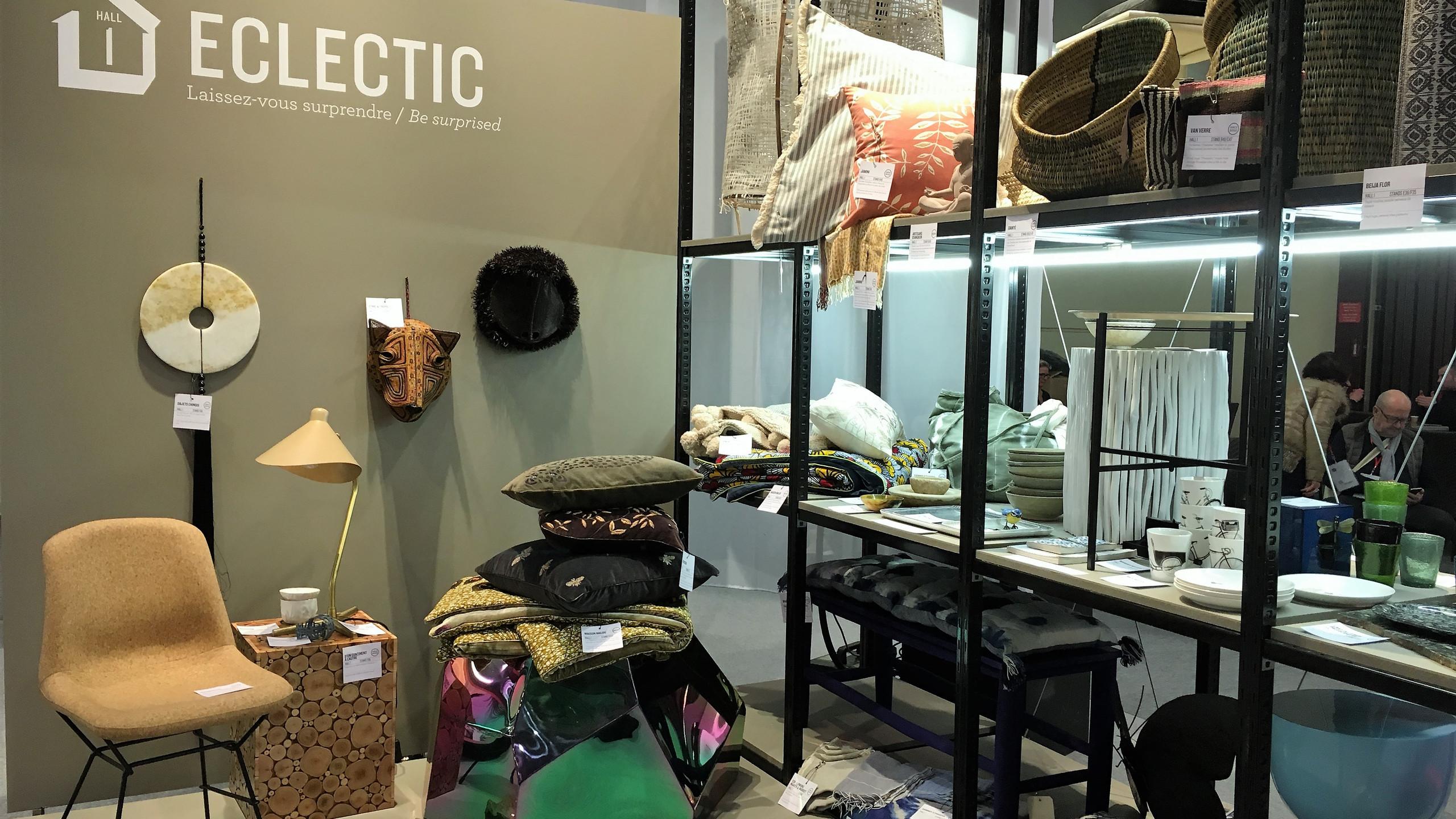 Maison & Objet Paris  Spannender Stilmix - klassische Möbel treffen auf Dekorationen aus Fernost, kombiniert mit cleanen Elementen und romantisch angehauchten Details.