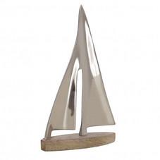 Deko, Schiff, Holz/Metall