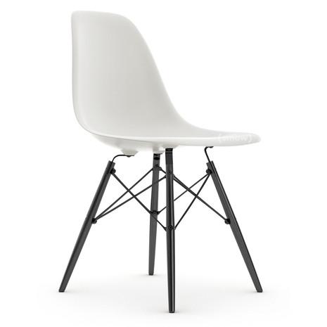 2x Stuhl, Kunstlederpolsterung (ähnl., Beine Stahl schwarz)