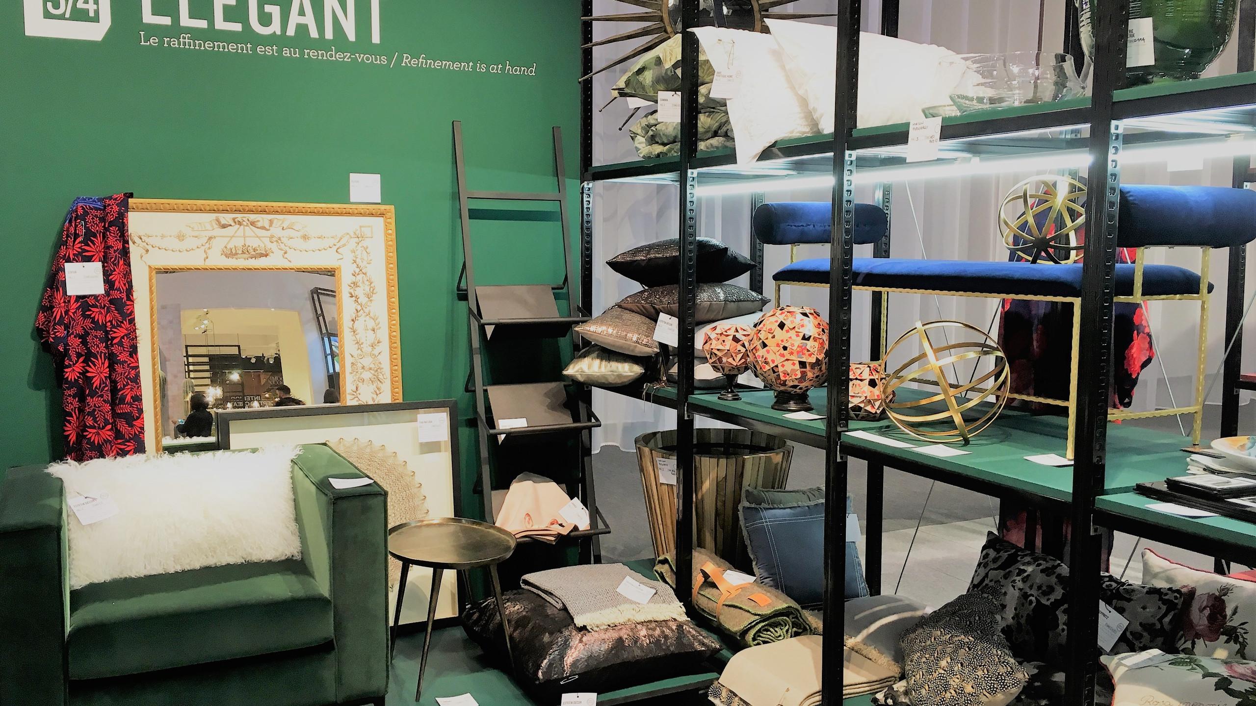 Maison & Objet Paris  Elegant einrichten mit edlen Möbeln, viel Messing und Kupfer, extravaganter Dekoration und hochwertigen Textilien.