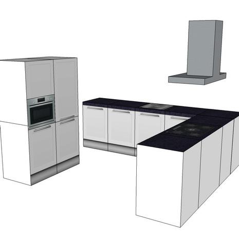 Cubiqz-Küche, Set, unbenutzt und originalverpackt