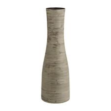 2er-Set Vase Habitat, Keramik, natur (1x klein, 1x groß)