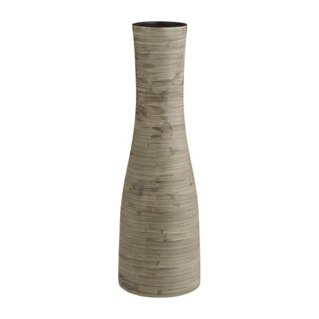 2er-Set Vase, Keramik, natur (1x klein, 1x groß)