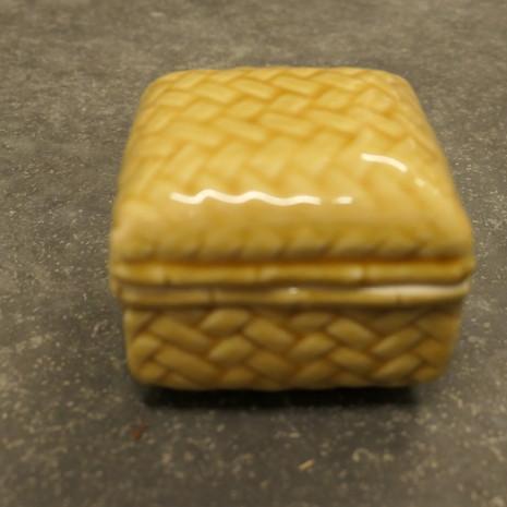 Schale, Keramik, gelb