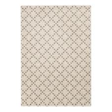 Teppich, creme/grau, 130x190 cm, neu