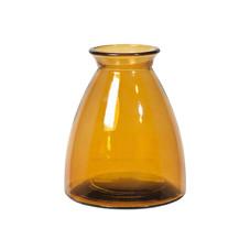 2x Vase groß, gelb