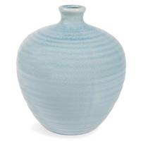 Vase, Keramik, hellblau